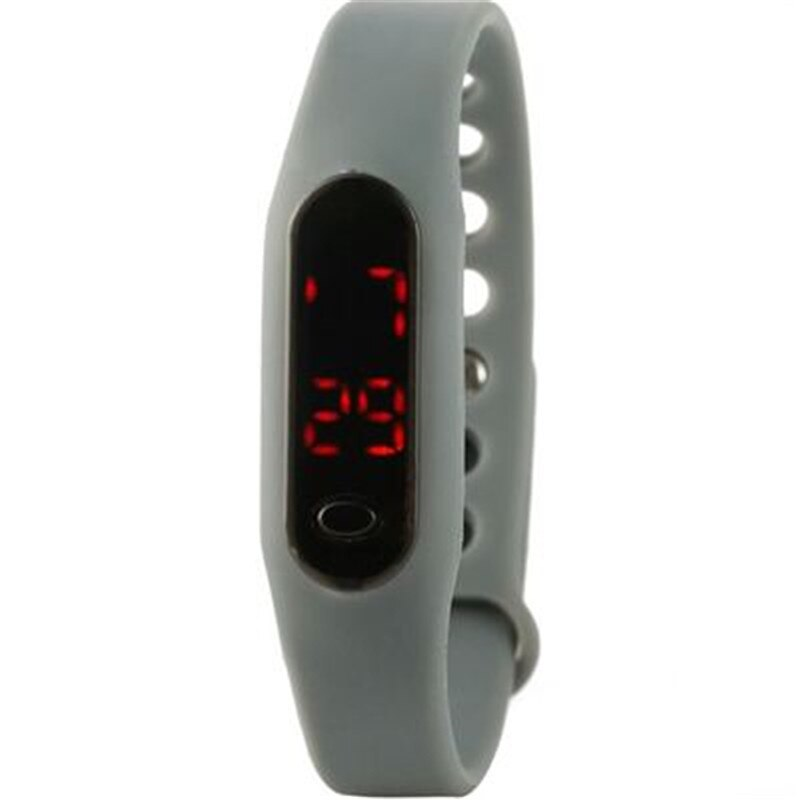 Korean Style Fashionable Men Women Lovers LED Touch Screen Digital Smart Watch  Sport Data Time Disp