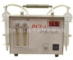 المزدوج عينات الهواء الجوي صك صك DCY-2 مزدوج الطريق الهواء السامة العينات العينات