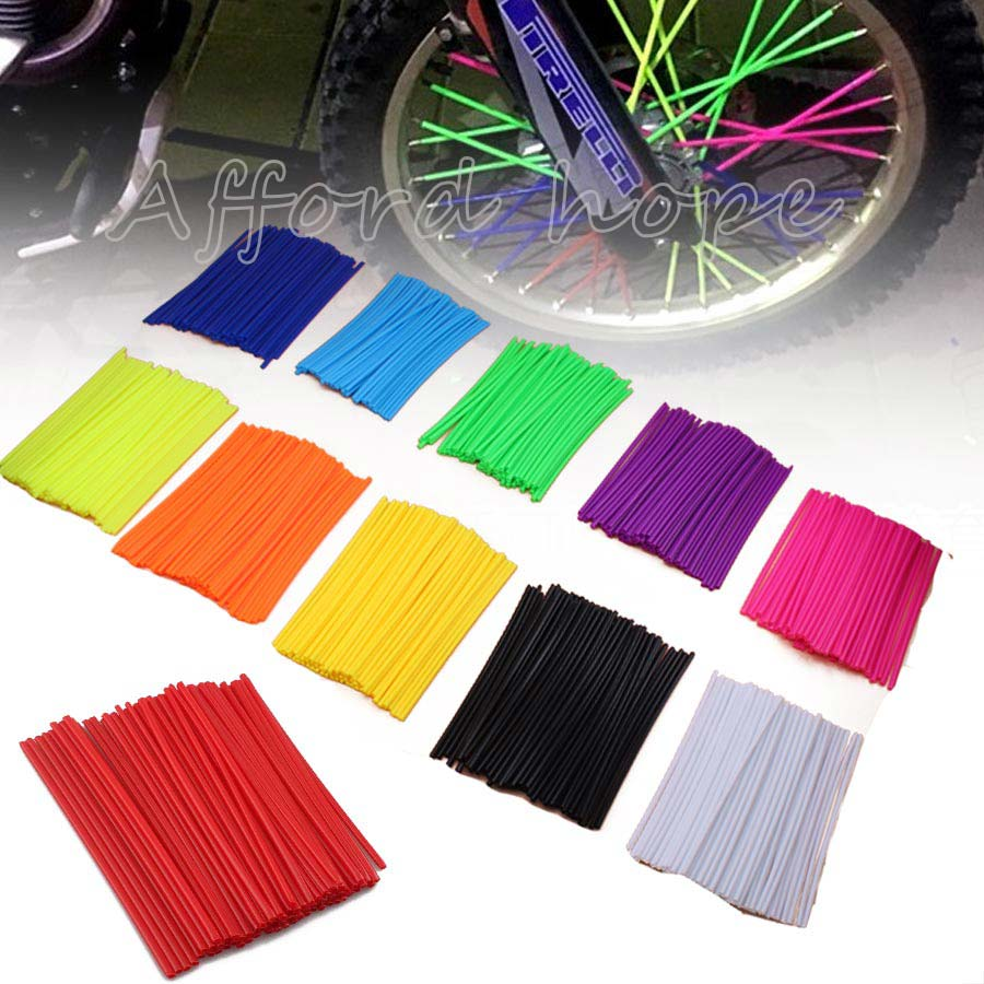 Универсальный подходит для большинства мотоциклов, велосипедов, на заказ, красочные, для мотокросса, обода колеса, обёрточная крышка, Компл...