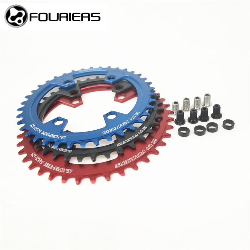 Fouriers plato de bicicleta Chainwheel AL7075-T651 aleación de aluminio BCD96 para XT M8000/M7000 40 T/42 T bicicleta cadena rueda marcha única