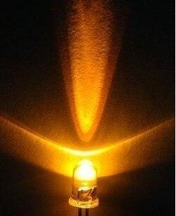 5MMLED 5mmled led la luz amarilla parpadeante Amarillo Blanco solo flash led 5mm amarillo DIY