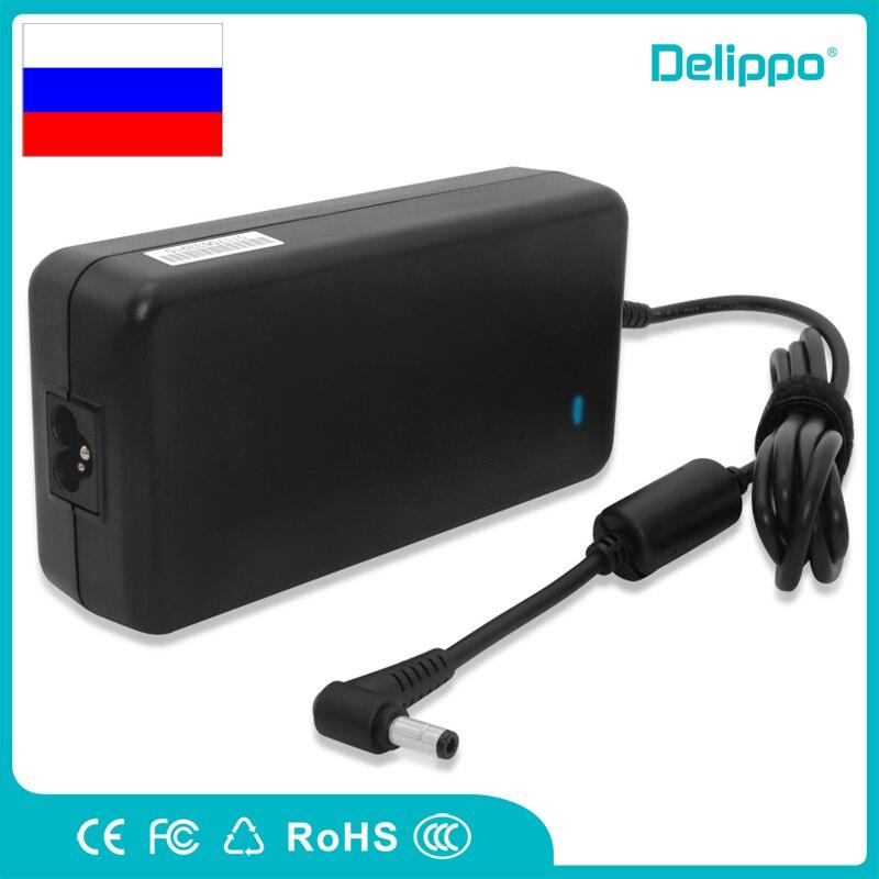 Delippo 19,5 V 7.7A 150W Laptop AC DC cargador con adaptador de CA para ASUS G71 G74 N71 NAdp-13 G73jh G71g G72gx ADP-150NB N76 K72 50nb D