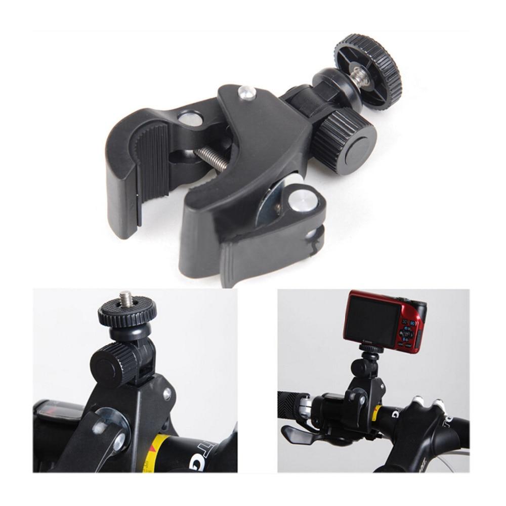 Gosear-soporte de trípode para cámara de bicicleta, soporte de trípode, adaptador de tornillo para Gopro Go Pro Hero 5 4 3 2 Xiaomi Yi 2 II 4 k 4 K