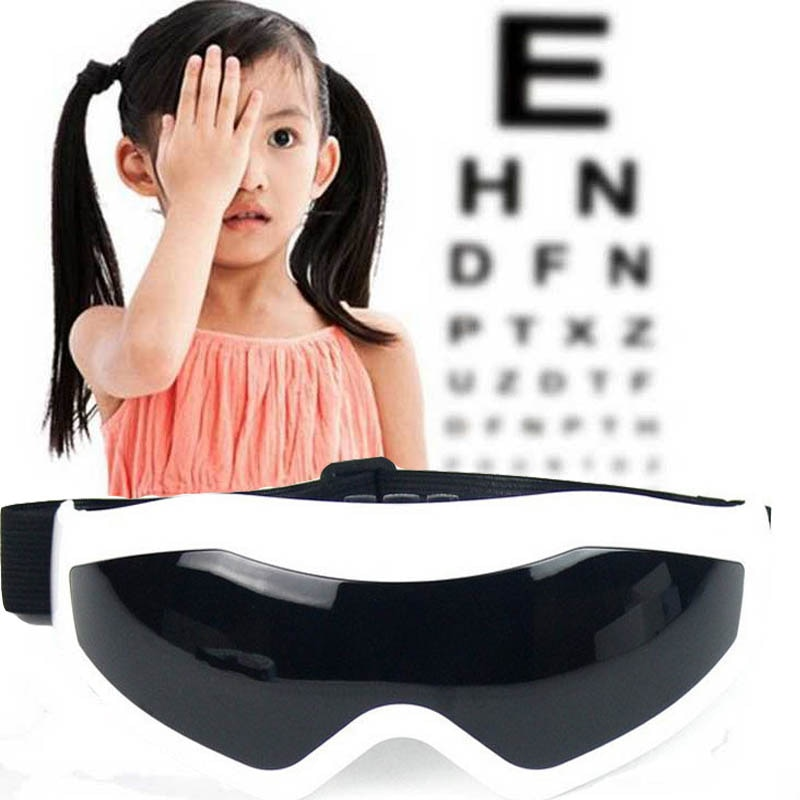 Ergonomic Design eye Mask Massager glasses Electric Massor Eye Relax Massage Remove Bags Dark Circle Alleviate Fatigue vision