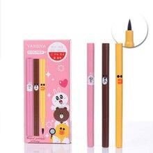 Cartoon Eyeliner pen Lasting waterproof sweatproof Anti halo dyeing Eyeliner Special offer sold out gone eye makeup