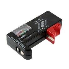AA/AAA/C/D/9 V/1.5 V affichage universel pile bouton couleur codée compteur indiquer Volt testeur vérificateur BT-168 livraison directe