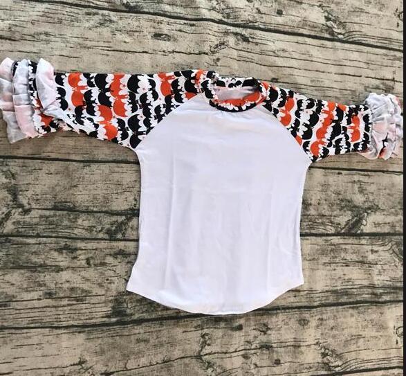 جودة عالية العصرية نمط قمصان بالجملة تصميم جديد طباعة الأكمام الجليد تي شيرت الصين الجملة طفل الفتيات طباعة فارغة راجلان قمصان