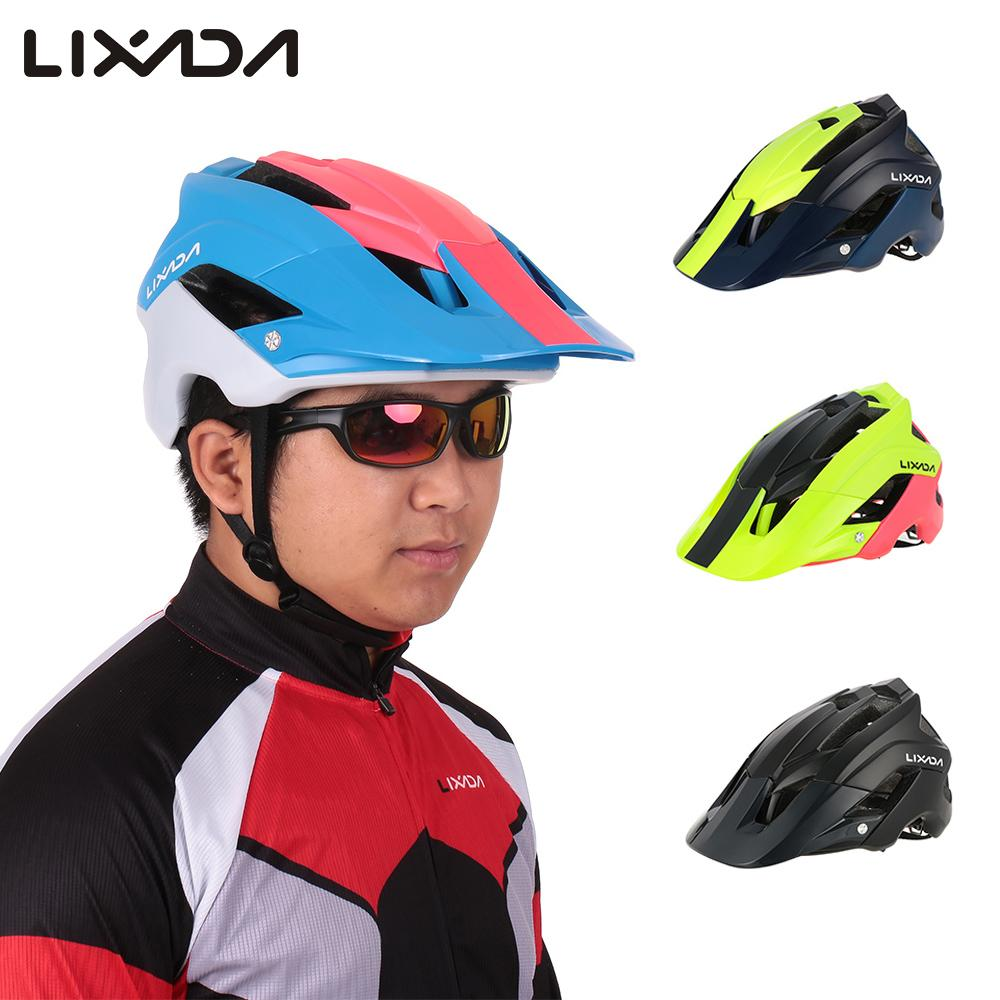 Lixada Cycling Helmet Ultra Light Men Sports Mountain Bike Helmet Bicycle Capacete De Ciclismo Casco Bicicleta Bici Casqu