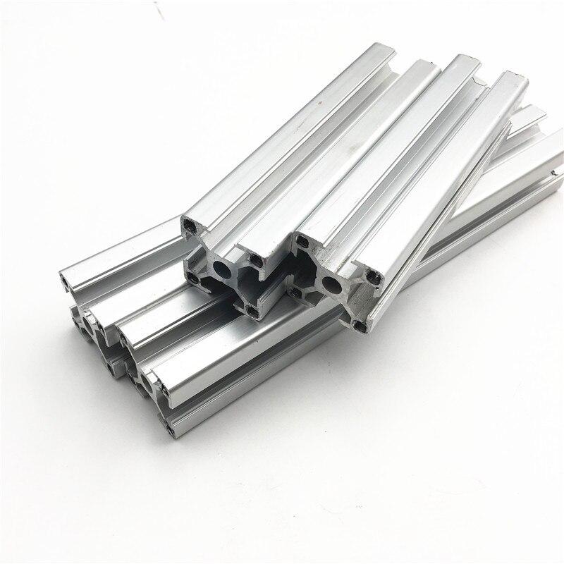 1 conjunto prusa i3 mk3 extrusões de alumínio anodizado kit para prusa i3 mk3 y quadro m5 perfurado