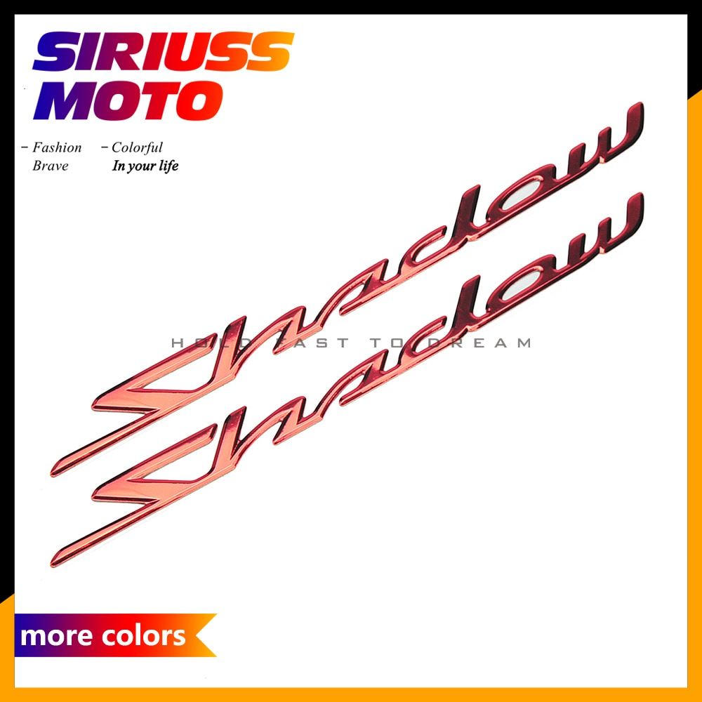 3D Motorcycle Sticker Motocross Motobike Shadow Stickers Case for Honda Shadow Phantom RS 150 400 750