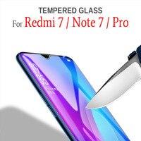 Закаленное стекло для Xiaomi Redmi Note 7, защита экрана, защитная пленка, стекло на Red mi 7 Note7 Pro, 32 ГБ, 64 ГБ, глобальная версия Xiomi