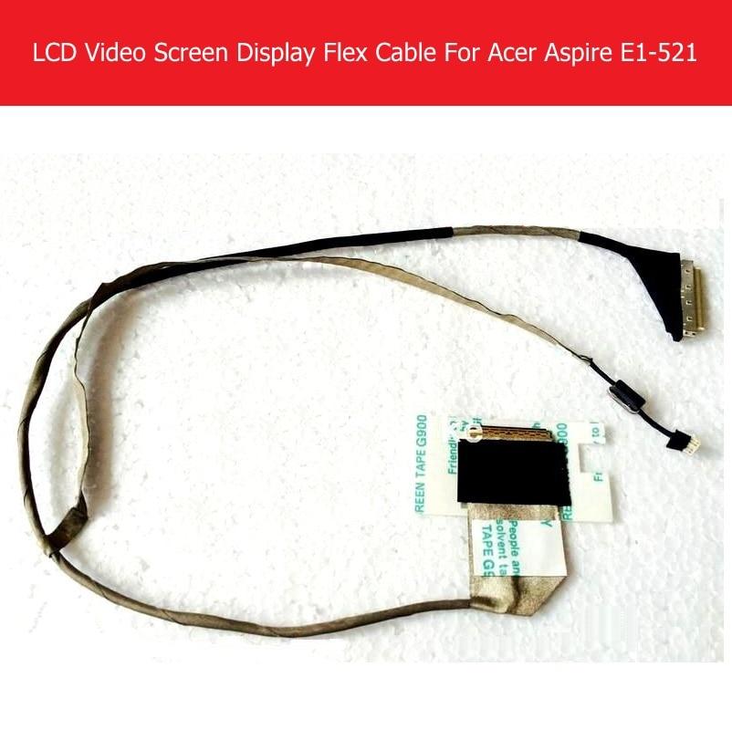 Weeten подлинное видео на экране ноутбука гибкий кабель для ACER Aspire E1-521 E1-531 E1-571 Lvds LCD гибкий кабель led Замена