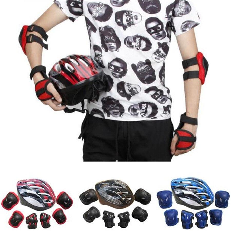 1 juego adultos Unisex auto equilibrio al aire libre bicicleta de montaña deportiva rodillo rodilla codo casco de muñeca almohadilla