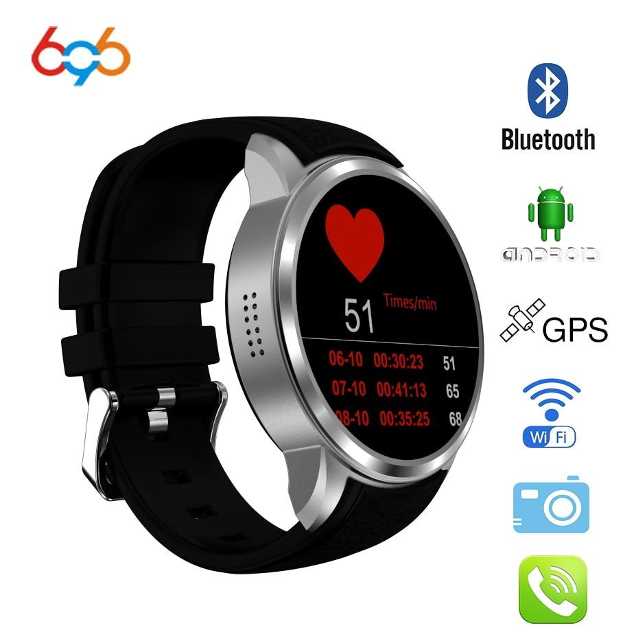 Reloj inteligente X200 air de venta superior 696 Android 5,1 MTK6580 Ram 1 GB/Rom 16 GB reloj AMOLED con GPS 3G BT Phonewatch BT música pk kw88