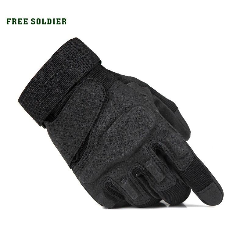 Ücretsiz asker açık spor HikingmTraining taktik eldiven aşınmaya dayanıklı Antiskid bisiklet eldiveni Gull parmak erkek yükseltme