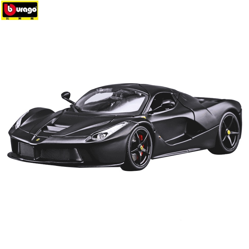 Bburago 118 fabricante de coches deportivos Ferrari autorizado coche de simulación de aleación de metal modelo adornos para manualidades colección herramientas de juguete