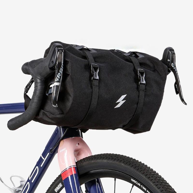 3-5L vélo roue sac vélo avant Tube sac vélo guidon sac panier Pack cyclisme avant cadre sac à main vélo accessoires