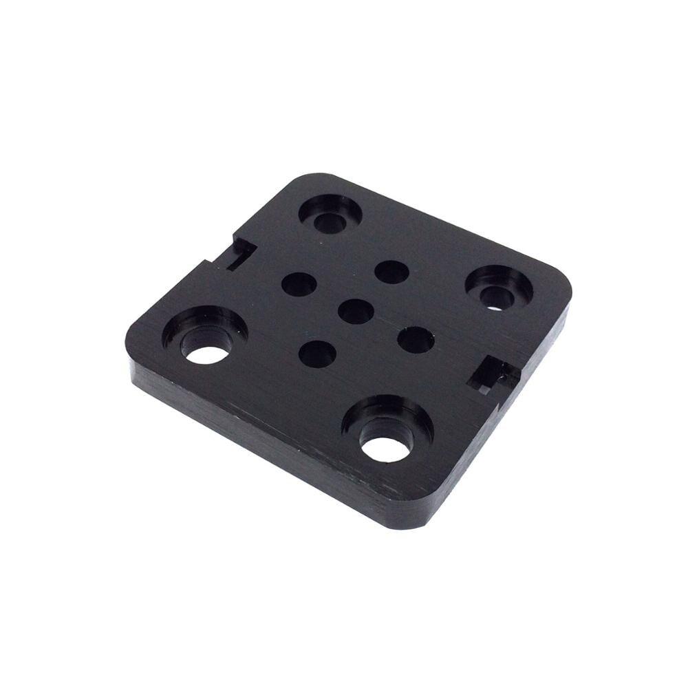 Funssor 2 قطعة * البسيطة V لوحة-V فتحة الألومنيوم الخطي البثق-3D طابعة RepRap CNC