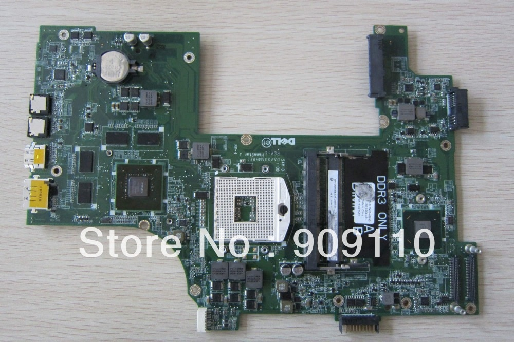 17R N7110 yourui para DELL INSPIRON Laptop motherboard Mainboard PC DDR3 09NWTG DAV03AMB8E1 completa tesed