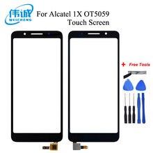 Top Kwaliteit voor Alcatel 1X 5059D 5059A 5059I 5059X 5059Y OT5059 5059 Touch Screen Digitizer Digitizer Glas Panel Vervanging