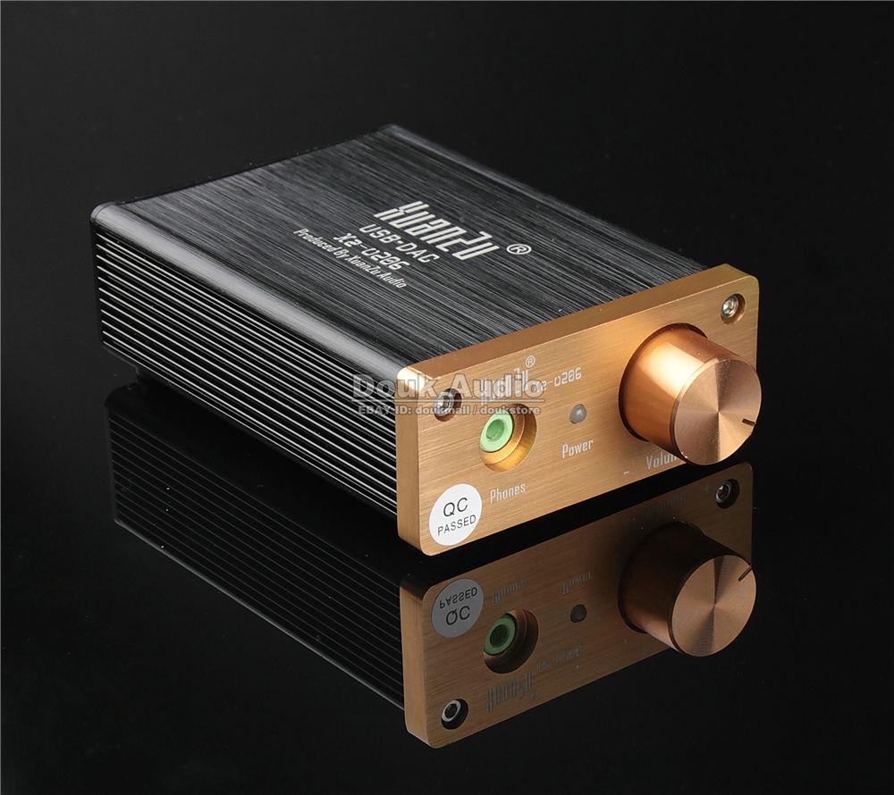 Music hall último Mini Hi-Fi WM8740 USB DAC Audio decodificador PC tarjeta de sonido externo Salida Óptica Coaxial