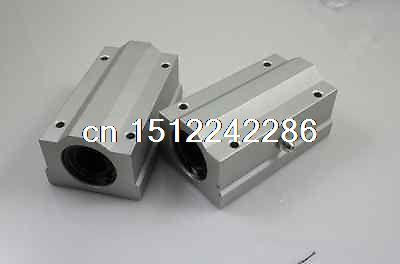 4 piezas rodamiento lineal de bolas Pellow Bolck unidad lineal para CNC SCS8LUU