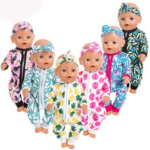 Nouvelles barboteuses adaptées pour bébé né 43cm poupée vêtements poupée accessoires pour 17 pouces bébé poupée