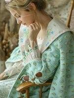 lynettes chinoiserie winter original design women cute vintage embroidered lapel woolen overcoat outerwear