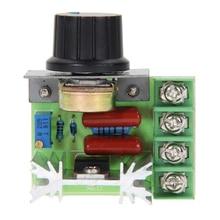 SCR регулятор напряжения, контроллер 220 В переменного тока 2000 Вт, электронный диммеры с регулировкой скорости, регуляция температуры, модуль ...