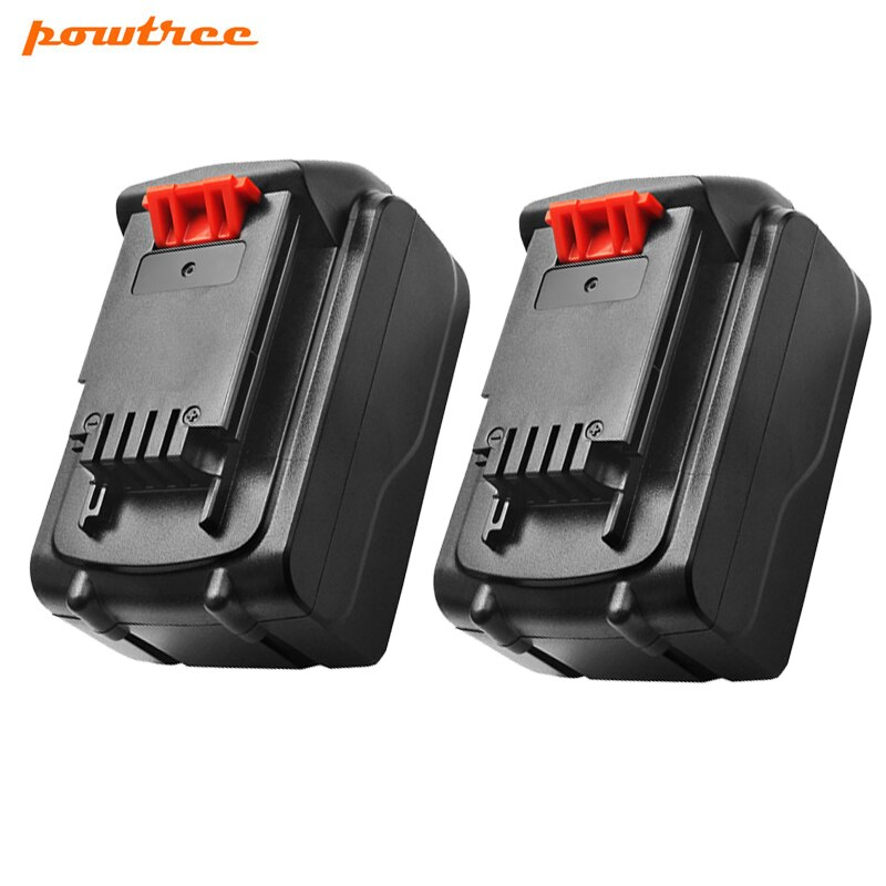 Powtree 20V 4.5Ah Li-Ion LB20 batería para Black & Decker LBXR20 LB20 LBX20 ASL186K BDCDMT120 CHH2220 LD3K220 LPP120 LST120 L10