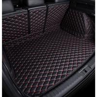 Custom-Made Car Trunk Mats for nissan qashqai j10 teana j32 kicks x-trail t30 patrol y62 Car-Styling Carpet Tail Box Trunk Mat