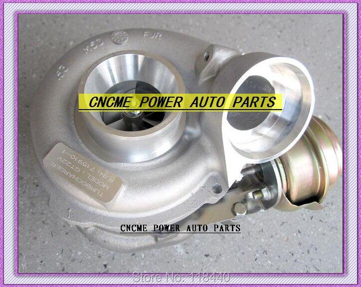 TURBO A6120960599 GT2256V 715910 715910-5001 S Turbocharger Para Mercedes Benz-Classe E270 M-Classe ML270 CDi OM612 2.7L 177HP 168