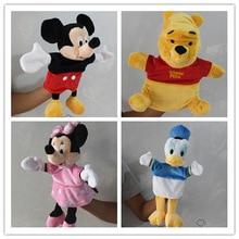1 шт., плюшевая игрушка в виде Мики Мауса, Дональда Дака, Минни Маус