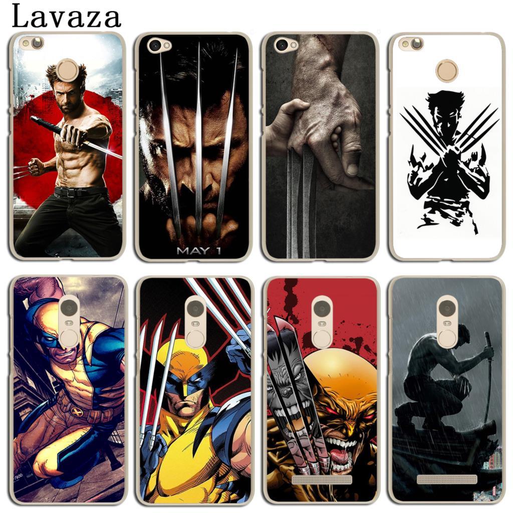 Lavaza Wolverine Superhero Caso Tampa Do Telefone para Xiaomi MI 9 9T A3 CC9 CC9E 8 A2 lite A1 Redmi K20 7A 6A 8A Nota 7 6 5 Pro