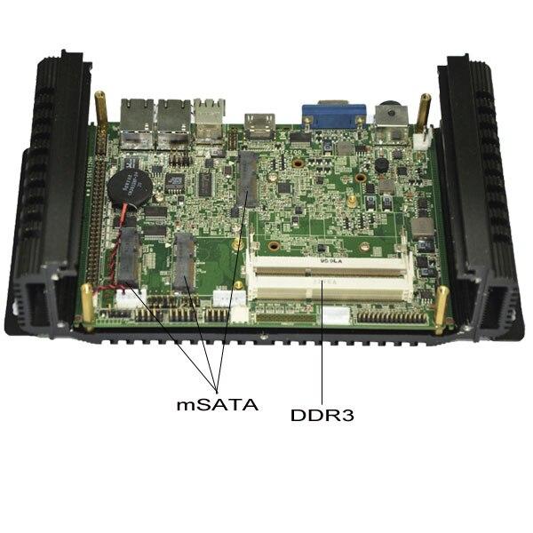 Intel I5 CPU compacto pc a bordo intel cpu 2Gb de ram y ddr3 (Lbox-2550)