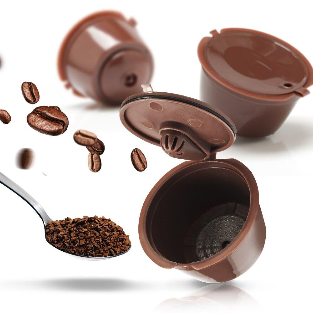 2/3/6 stücke/paket 3rd Reusable Für Dolce Gusto Kaffee Kapsel für Coffe DolceGusto Nescafe Maschine Reusable Kaffee filter