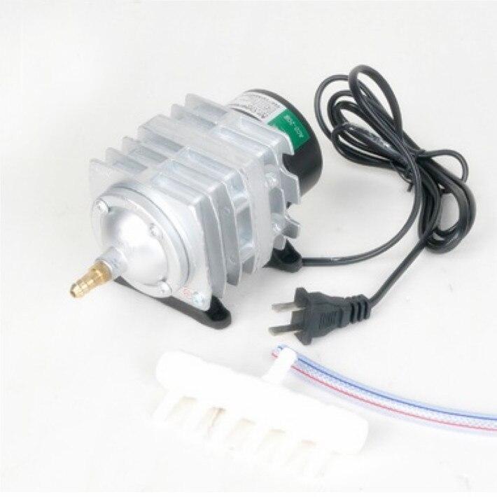 220V 25W 45L/min Hailea ACO-208 Electromagnetic Air Compressor Aquarium air pump Electric air pump Aquarium pump Fast shipping