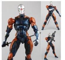 Play Arts Kai Metal Gear Solid Cyborg Ninja Gray Fox PVC Тактический шпионаж фигурка Коллекционная модель игрушки 26 см