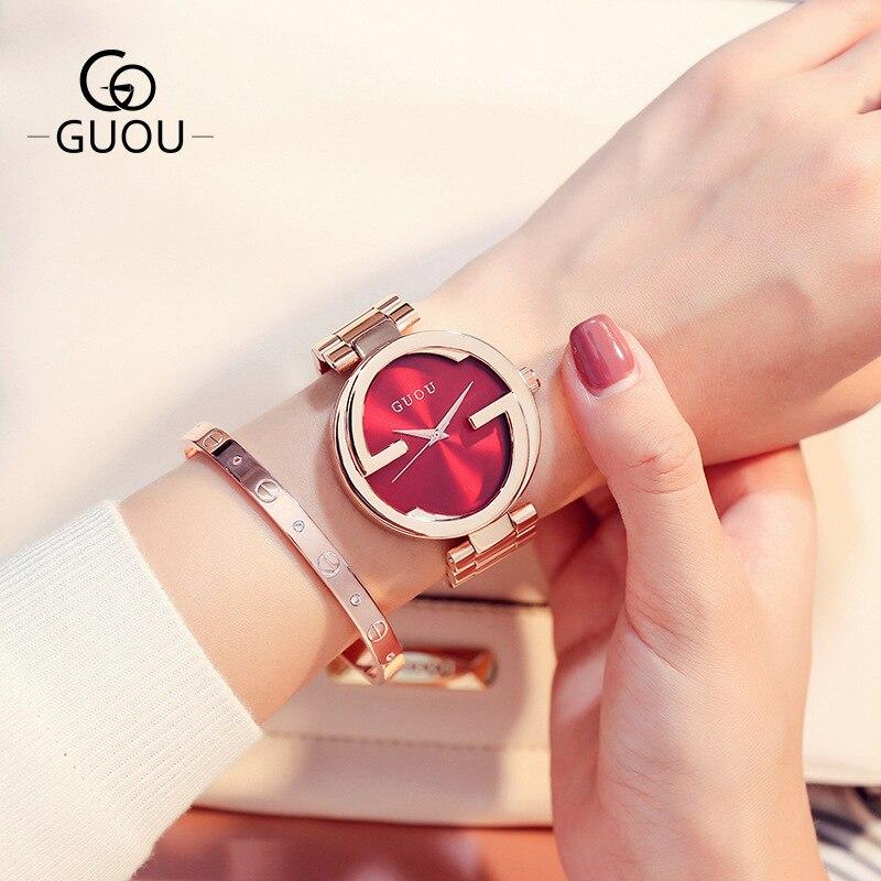 New Fashion Rhinestone Watches Women Luxury Brand Bracelet Watches Elegant Woman Quartz Dress Watches Clock relojes para mujer enlarge