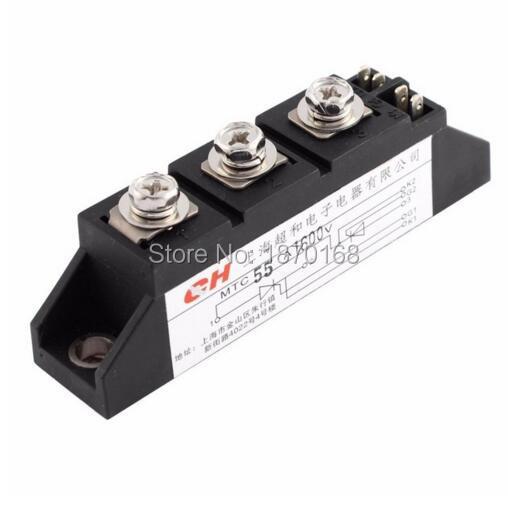 Диодный модуль выпрямителя MTC-55A/110A с силиконовым контролем тиристора 110A 1600V MTC