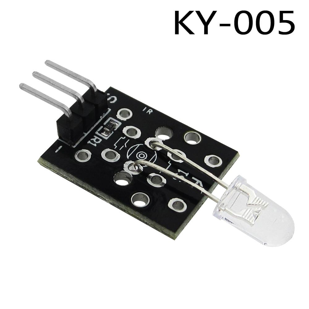 HAILANGNIAO 10pcs/lot Infrared emission sensor module KY-005