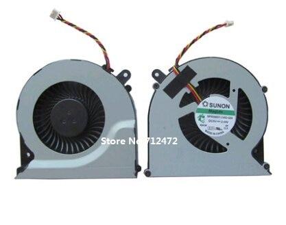 SSEA nuevo ventilador de refrigeración para ordenador portátil CPU 3 pines para Toshiba Satellite C850 C855 C870 C875 L850 L870 L850D L870D ventilador MF60090V1-C450-G99