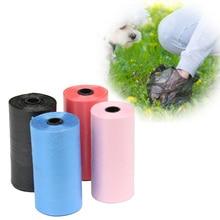 Sac à ordures Portable en plastique pour chiens   10 rouleaux de 200 pièces, sacs à ordures pour animaux de compagnie, transporteur de déchets biodégradables, sacs de nettoyage
