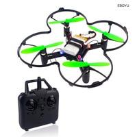 Квадрокоптер EBOYU SG200, Радиоуправляемый летательный аппарат «сделай сам» с камерой 0,3 МП, Wi-Fi, FPV, удерживанием высоты, без головы, обучающий, Ра...