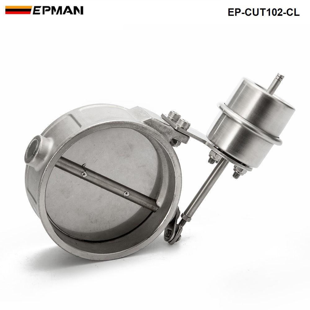 Novo vácuo ativado escape recorte/despejo 102mm fechar estilo pressão cerca de 1 barra para bmw 520i f10 EP-CUT102-CL