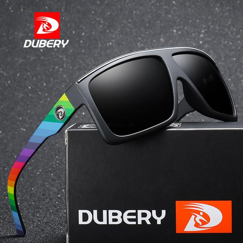 UBERY 2019 Polarized HD Sunglasses Men Driving Shades Male Retro Sun Glasses For Men Summer Mirror S