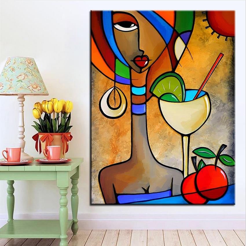 Impresión de gran tamaño pintura al óleo solace pintura de pared Pop Art cuadro para pintura para sala de estar sin marco
