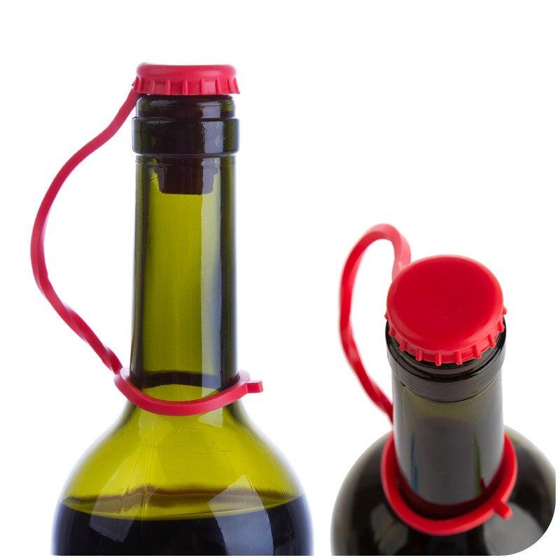 HF10 anti perder pendurar botão rolha, rolha de garrafa de cerveja vinho tinto bujão de vedação, cozinha condimento garrafa plug atacado
