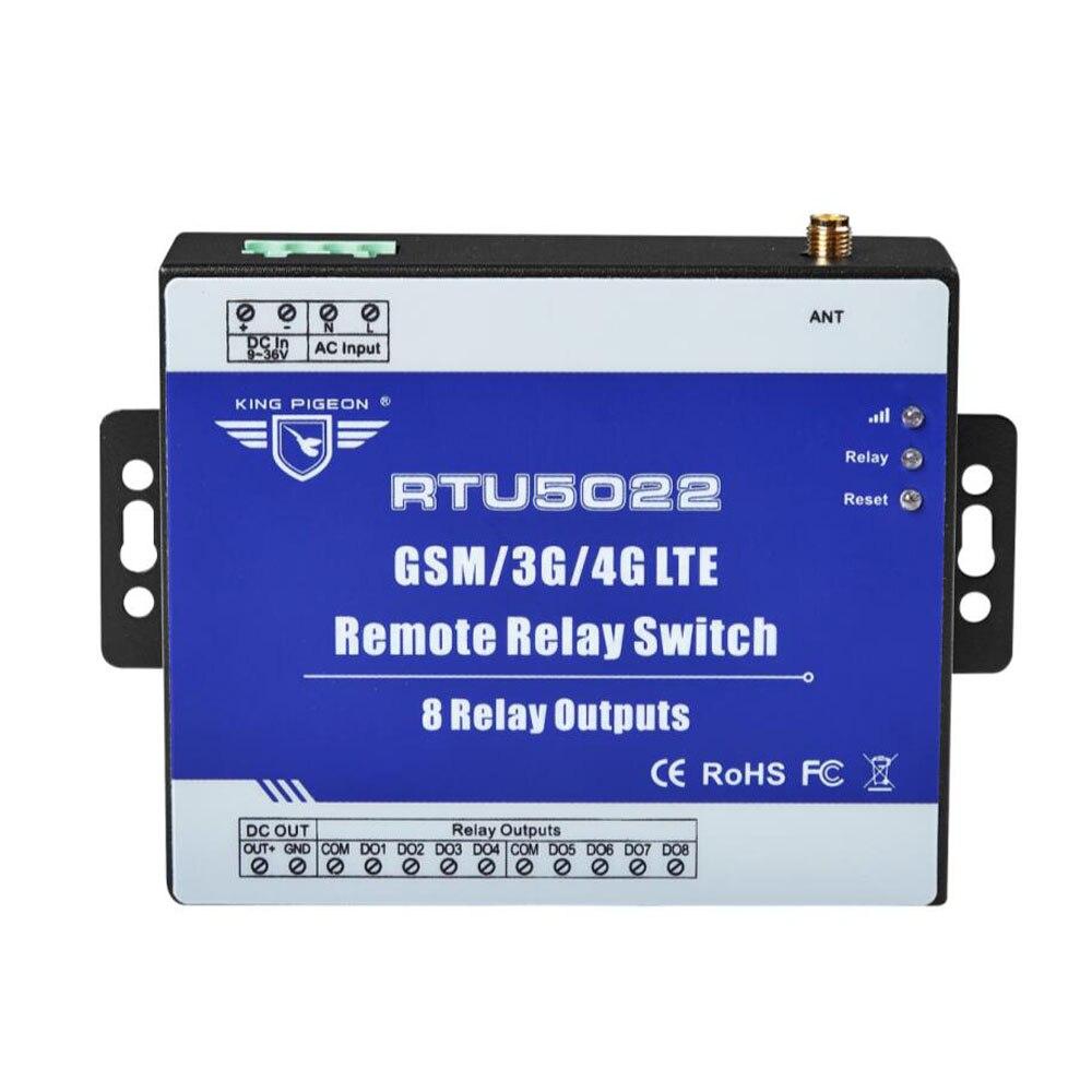 GSM Дистанционный переключатель реле sms-сигнализация управление через SMS приложение таймер для уличный светильник Управление насосом с 8 рел...
