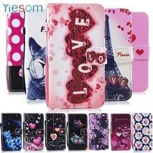 YIESOM étui pour Sony Xperia L1 L2 XA1 Ultra XA2 Plus XA3 portefeuille cuir étui de téléphone pour Coque Sony XZ1 Compact XZ2 XZ3 Mini housse